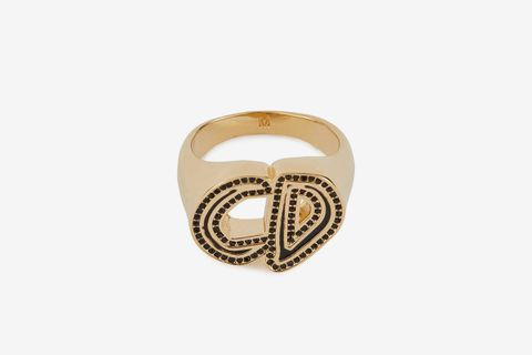 CD Dior And Pettibon Signet Ring