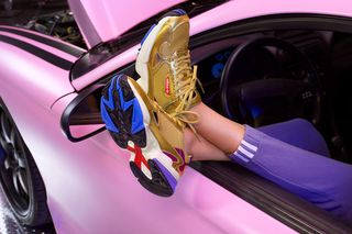 innovative design 2ea6b 3c6b3 Kylie Jenner Is the Face of adidas's SS19 Falcon Campaign