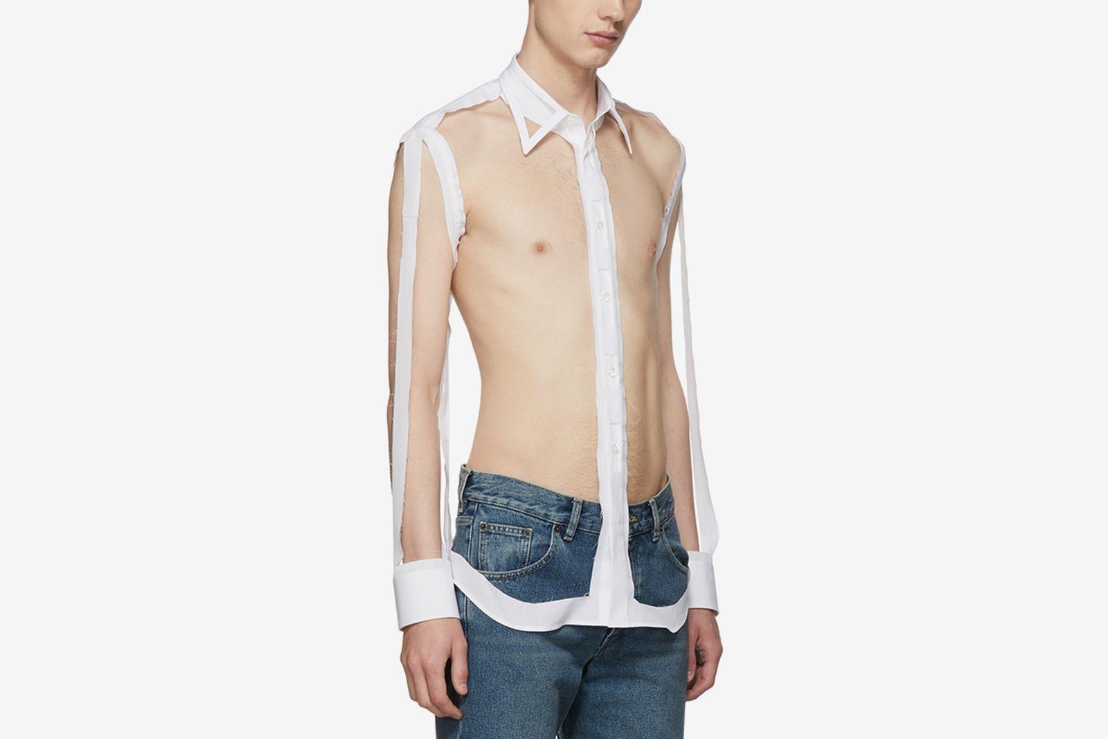 skeleton shirt main Maison Margiela OFF-WHITE c/o Virgil Abloh Replica