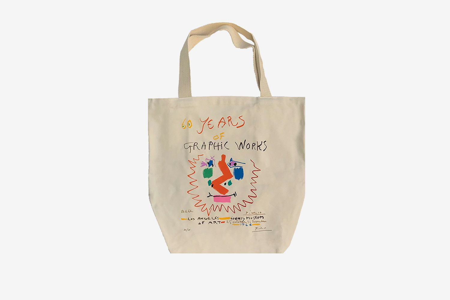 Pablo Picasso Laughing Faun Tote