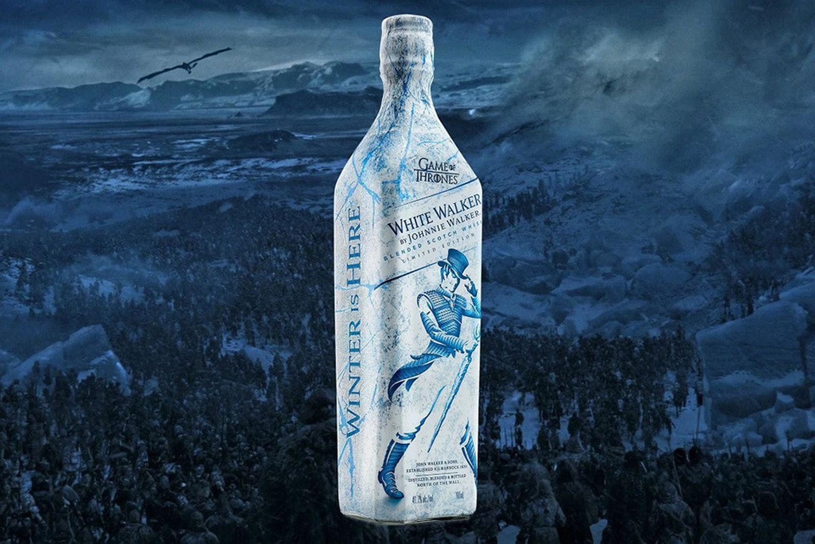 Johnnie Walker Game Of Thrones Drop White Walker Whiskey