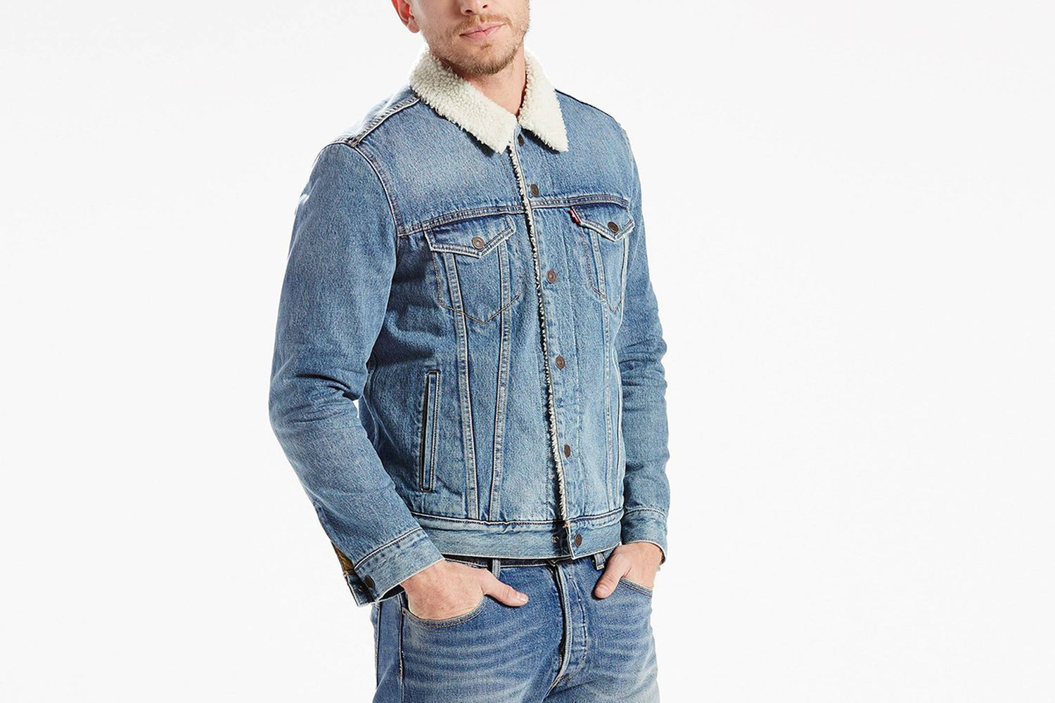 Denim Sherpa Jacket