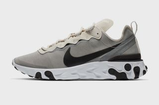 9086cd759ea78 The Nike React Element 55 in Light Gray Black Dropping Soon