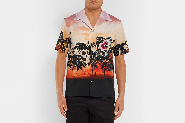 Camp-Collar Shirt