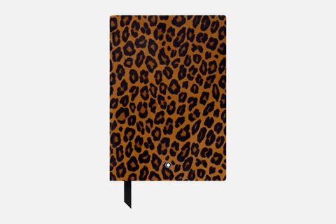 Fine Stationery Notebook #146 Animal Print Leopard