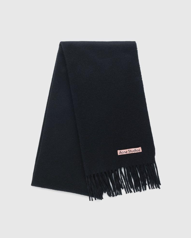 Acne Studios – Narrow Cashmere Scarf Black