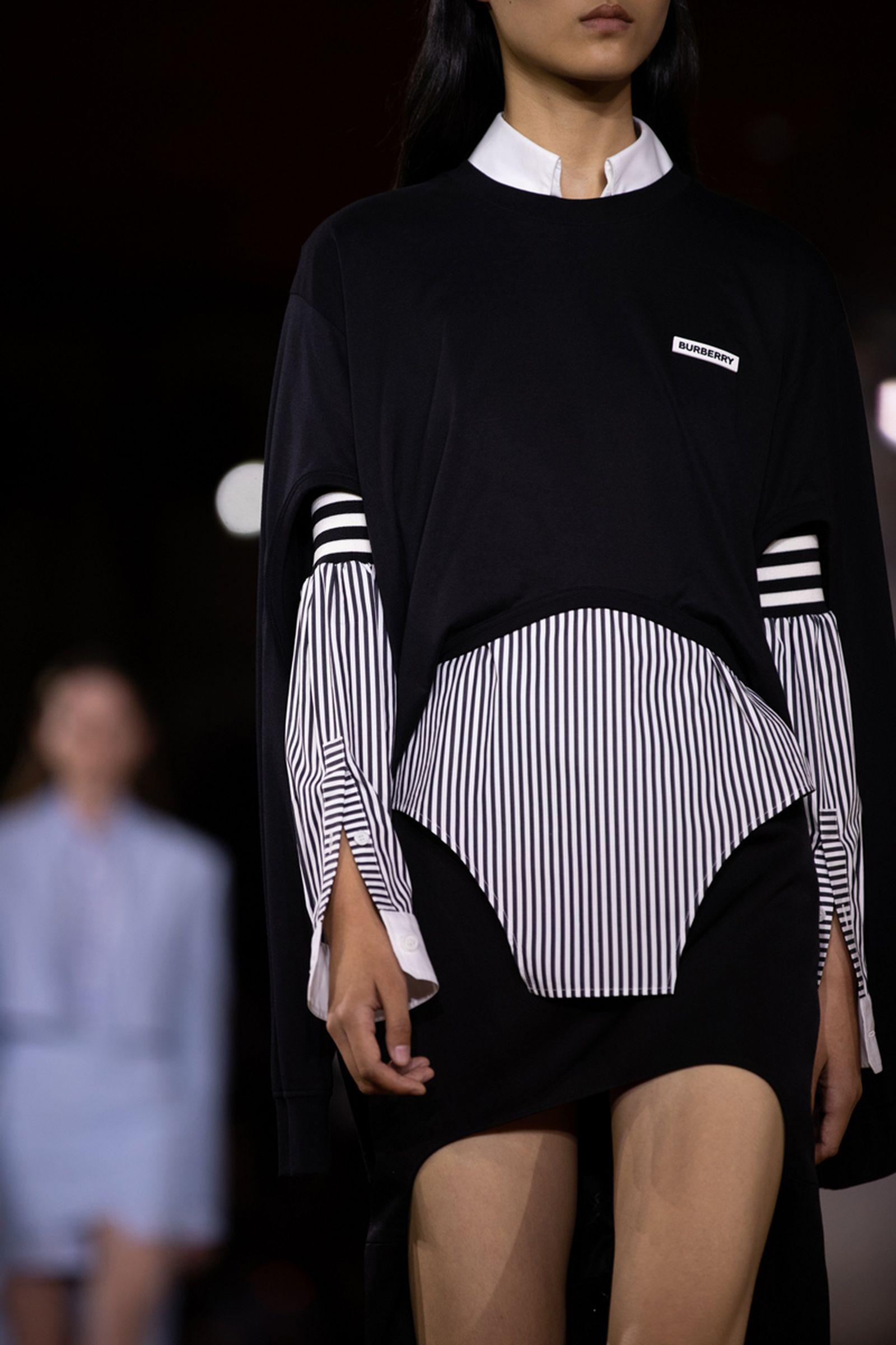 burberry LFW london fashion week riccardo tisci