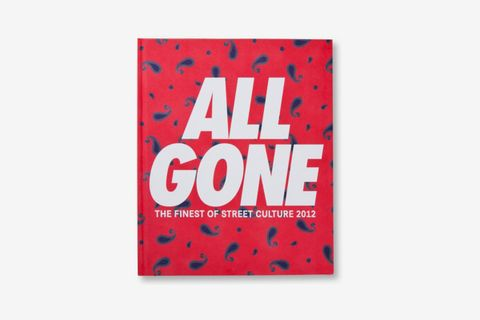 All Gone 2012 Book Red Paisley