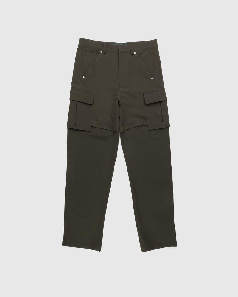 Jacquemus – Le Pantalon Peche Dark Khaki