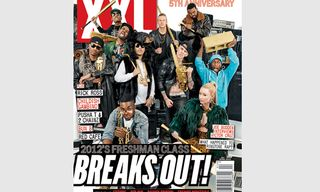 XXL Magazine 2012 Freshman Class Announcement and Cover