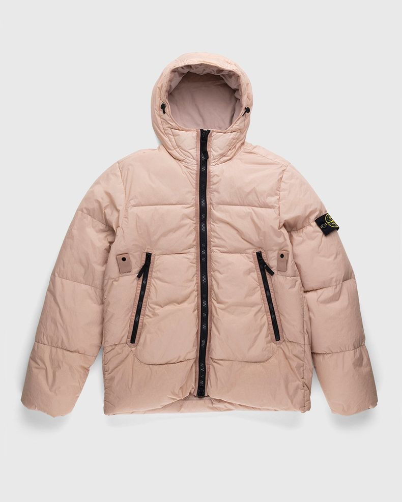 Stone Island – Real Down Jacket Rustic Rose