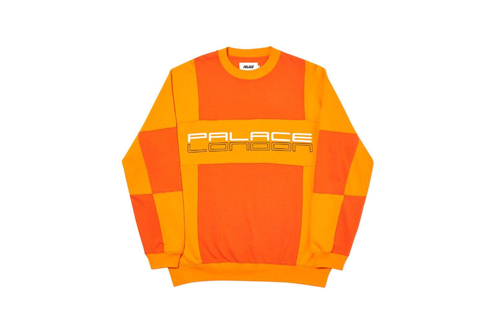 Palace 2019 Autumn Crew Pal Porsche Orange Front 2970 1