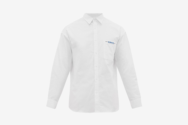 Dual Branded Cotton Twill Shirt