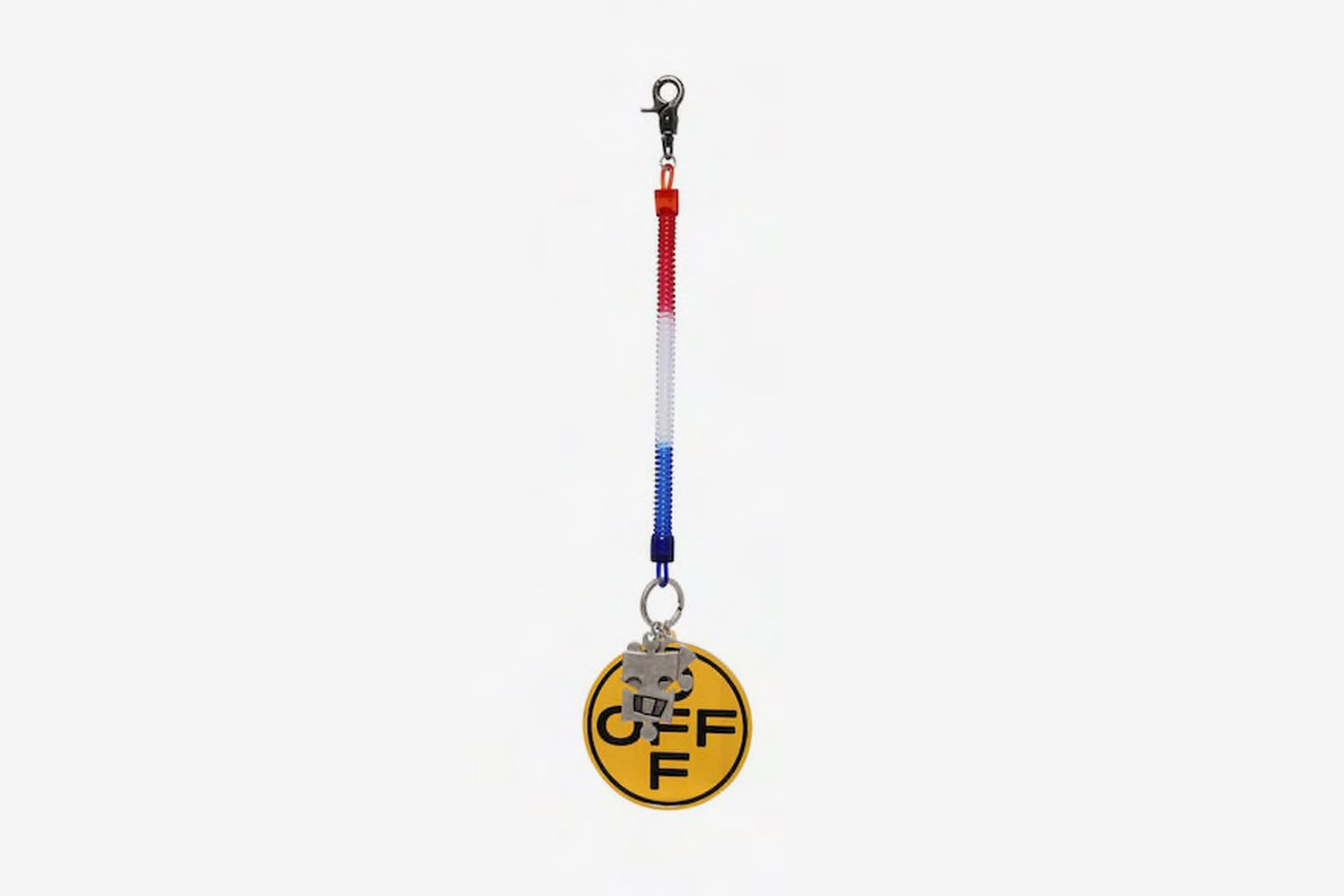Off Cross Bungee Keyring