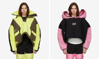 Shayne Oliver's Colmar A.G.E. Line Features Four-Armed Jackets