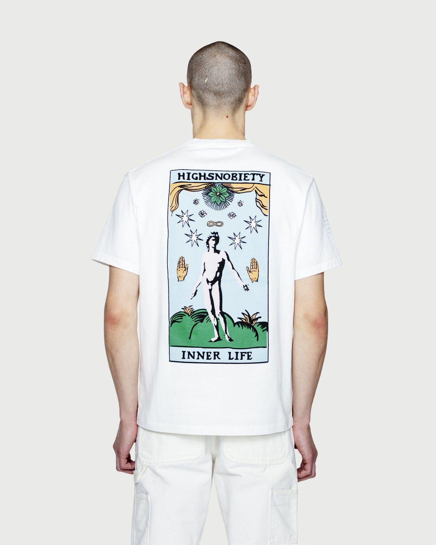 Highsnobiety — Inner Life The Beauty T-Shirt White - Image 7