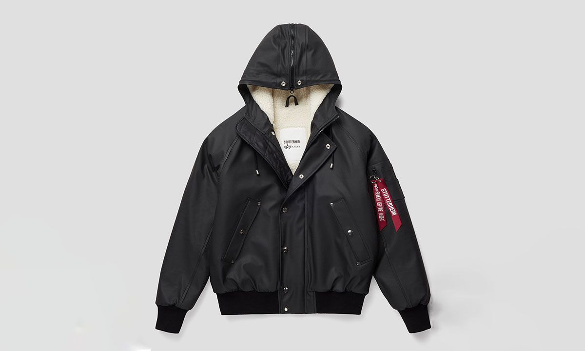 Stutterheim & Alpha Industries Drop A Practical Outerwear