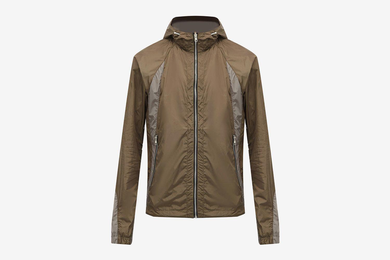 Reversible Mesh Hooded Jacket