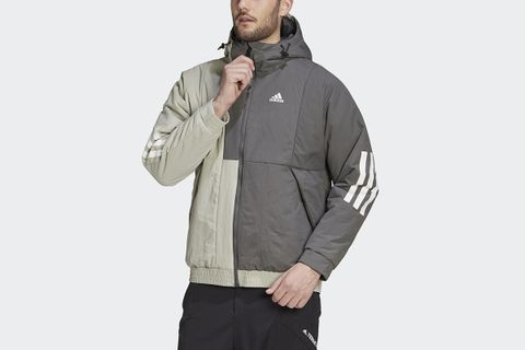 Back To Sport Insulated Hooded Jacket