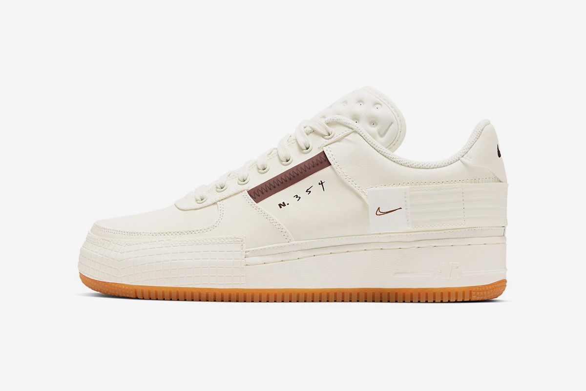 """Nike Air Force 1 Type """"Light Ivory/Earth Brown"""""""