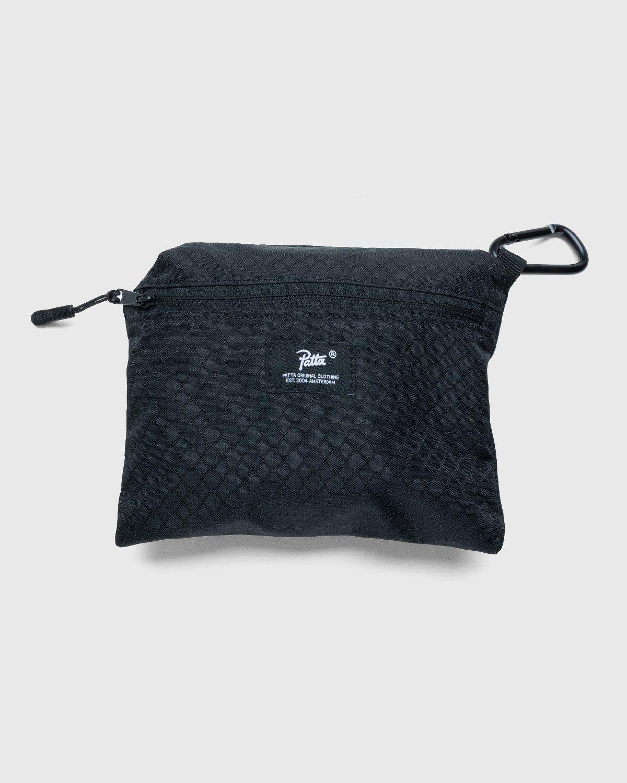 PATTA – Diamond Packable Tote Bag Black - Image 3