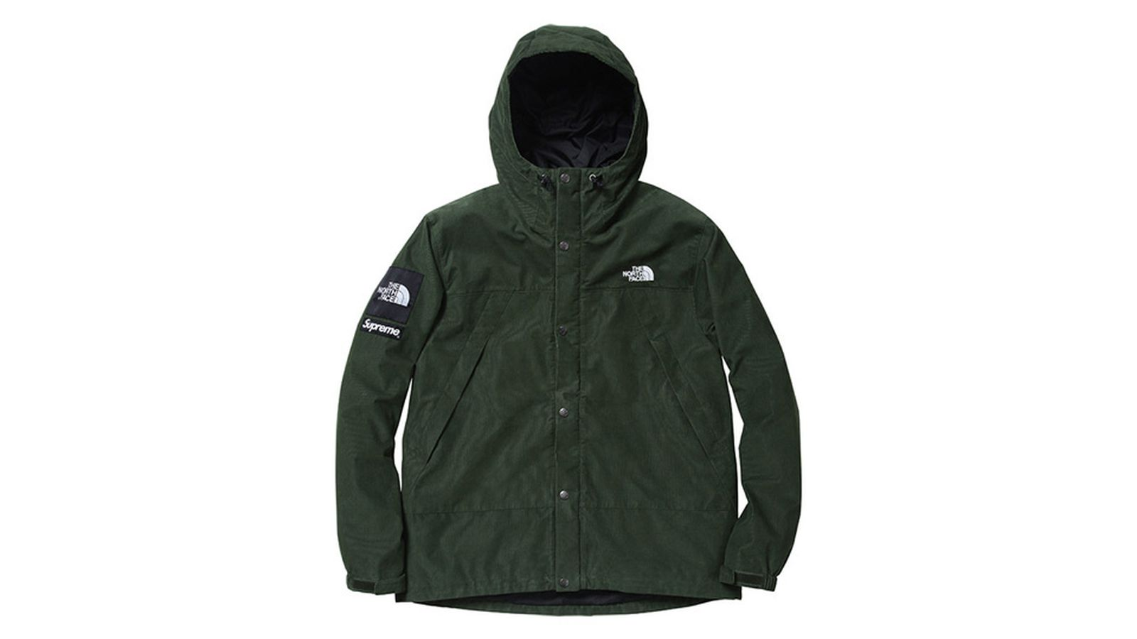 supreme x the north face history fw12