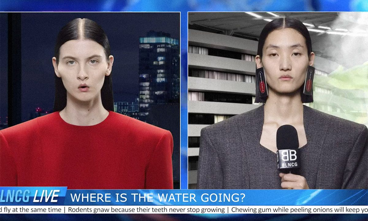 WTF Is Happening In Balenciaga's New Campaign Video?