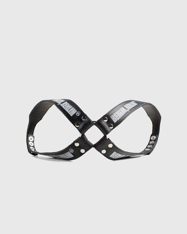 Highsnobiety x Butcherei Lindinger – Harness X-Back Sewn Black - Image 1