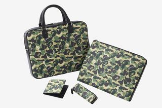 7112e7280cfe7 BAPE's ABC Camo Takes Center Stage in Montblanc Leather Goods Collab