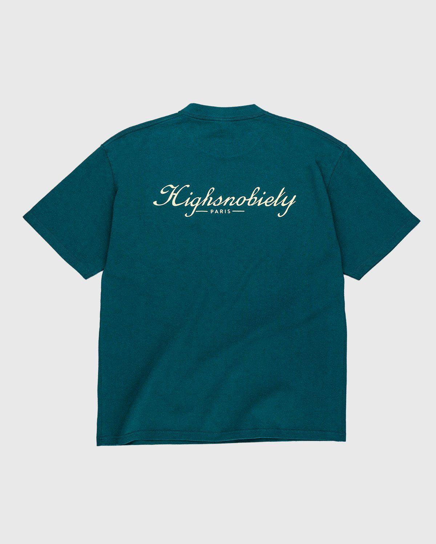 Highsnobiety — Not In Paris 3 x Café De Flore T-Shirt Green - Image 2