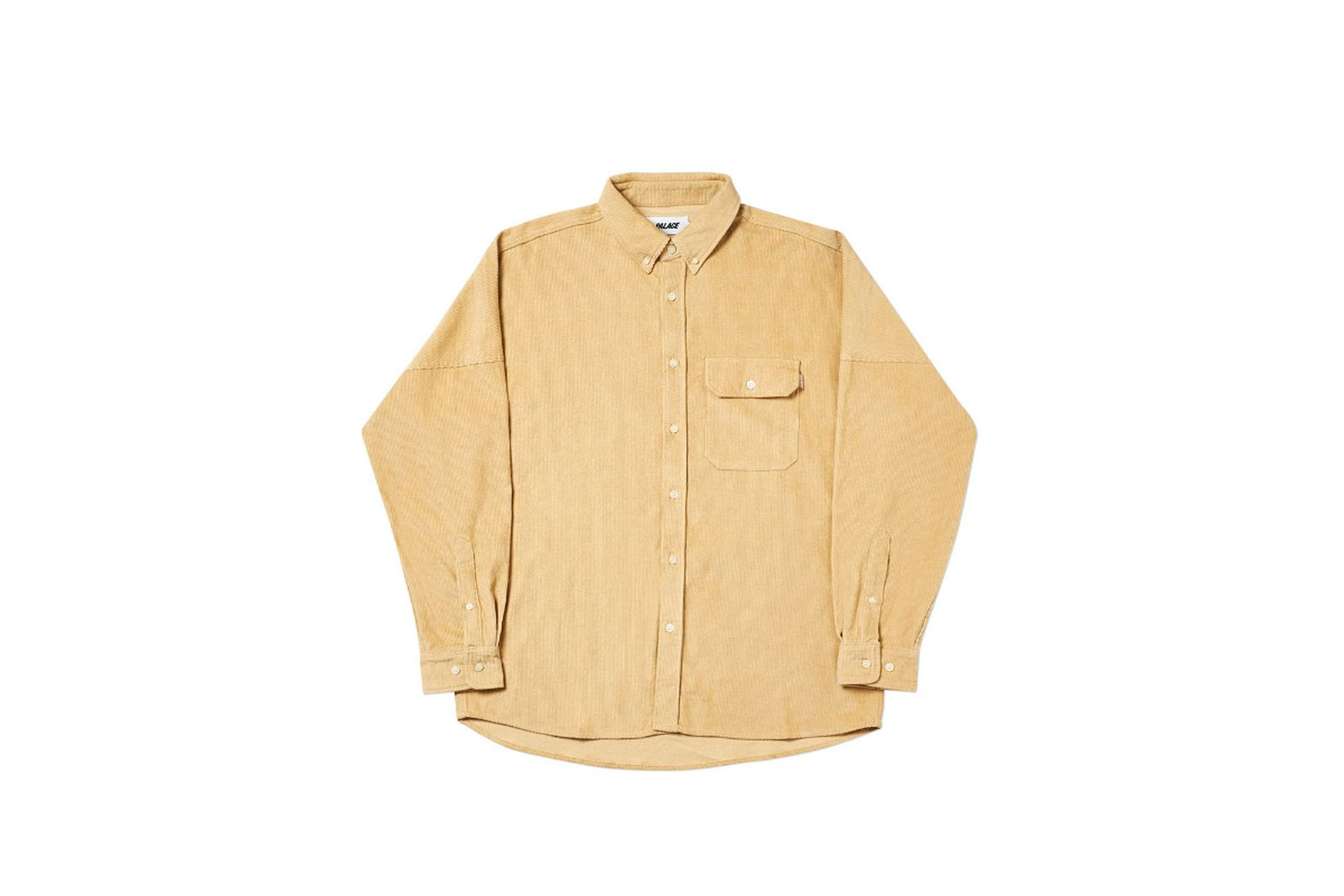 Palace 2019 Autumn Shirt Drop Cord ten front fw19