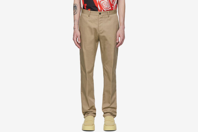 Gabardine Workwear Trousers