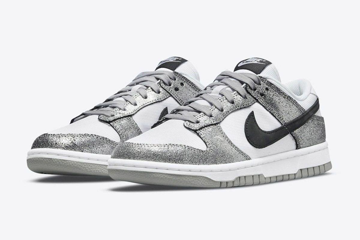 Nike's Metallic Silver Dunk Low Is a Winner