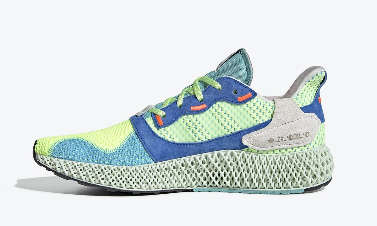 adidas Gives the ZX 4000 4D Its Most Vivid Colorway Yet