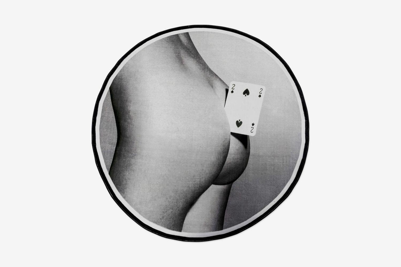 Toiletpaper Rug: Ace of Spades