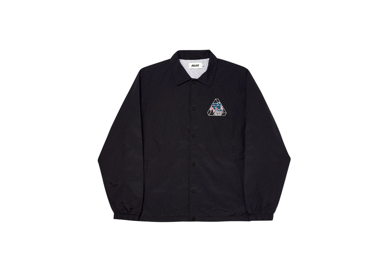 Palace 2019 Autumn Jacket Ripped Coach black front fw19