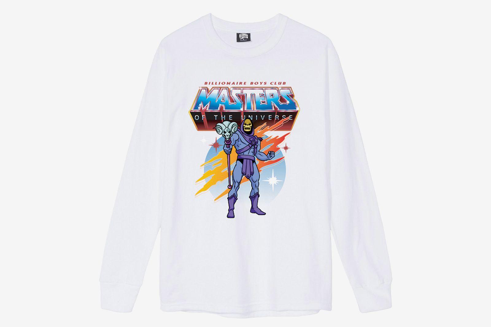 Billionaire Boys Club x Mattel's Spooky 'Master of the Universe' long sleeve white
