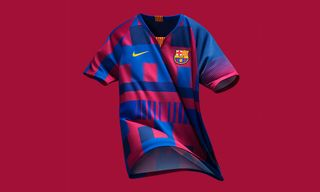 Nike & FC Barcelona Unveil Mashup Jersey to Celebrate 20th Anniversary