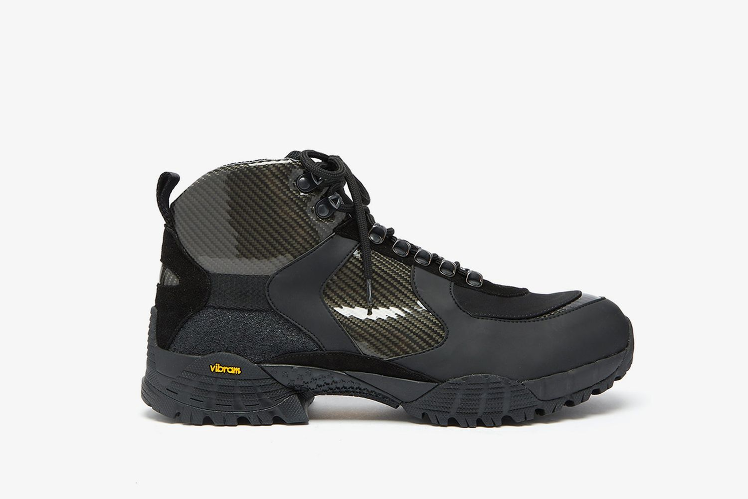 Panelled Hiking Boots