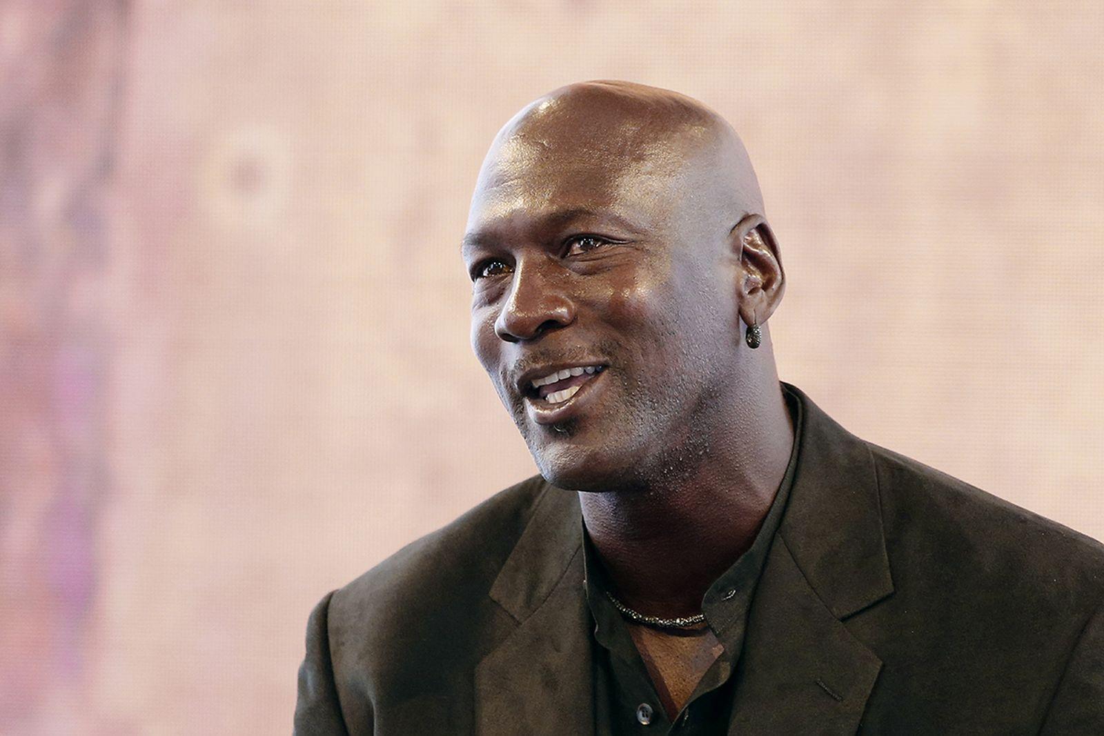 Michael Jordan speaking