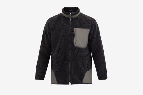 Technical-Panel Boa-Fleece Jacket