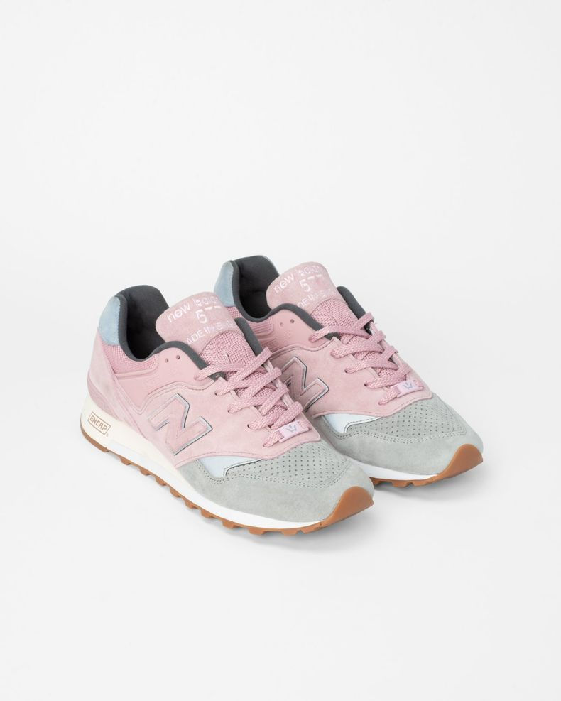 Highsnobiety x New Balance — 577 Pink/Grey