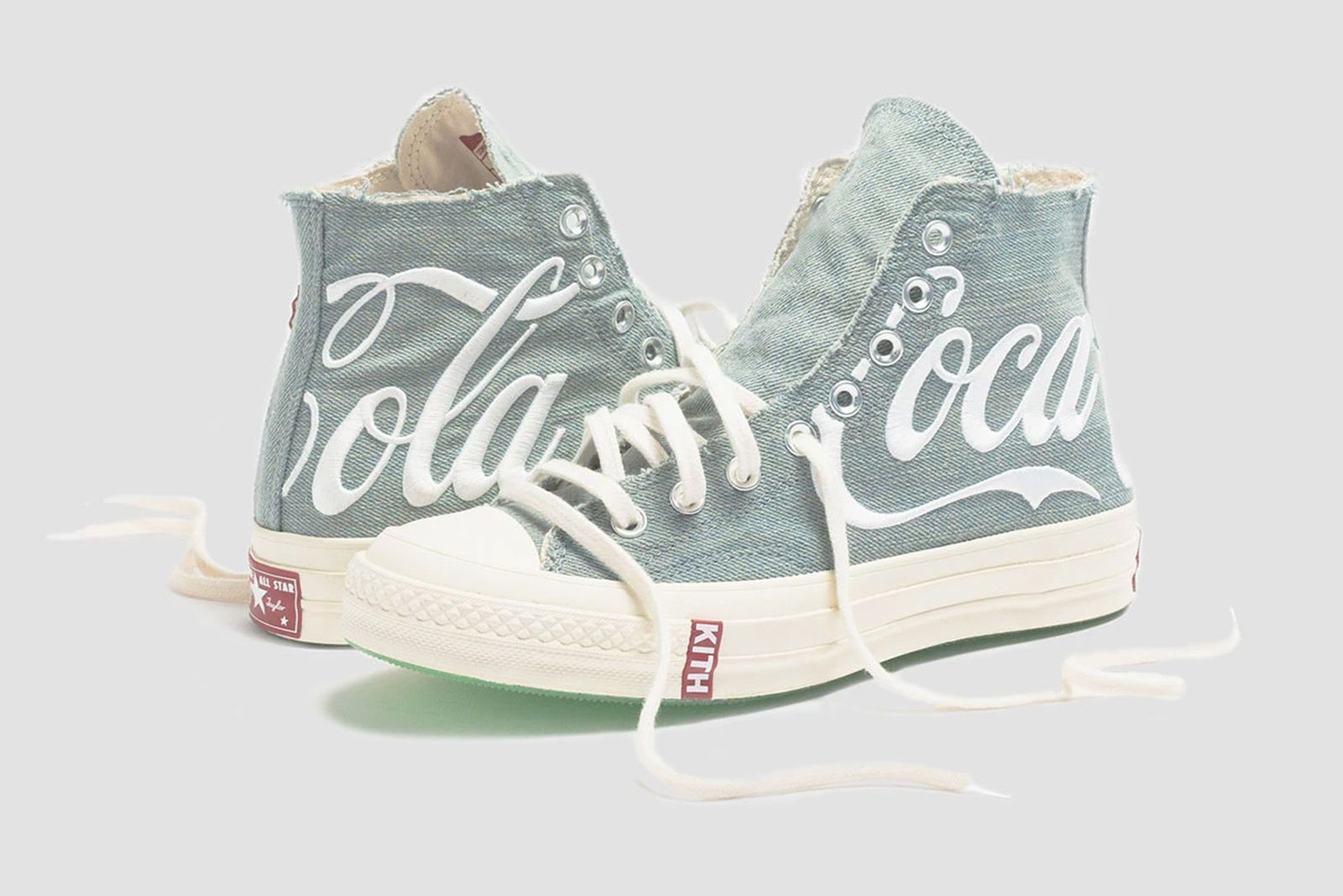 kith coca cola converse chuck 70s release date price official ronnie fieg