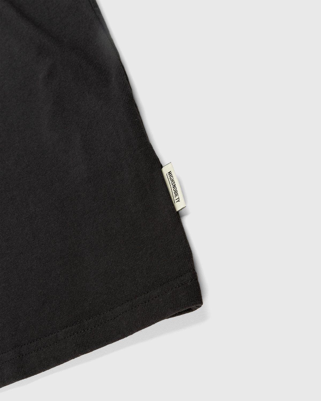 Highsnobiety – Logo T-Shirt Black - Image 4