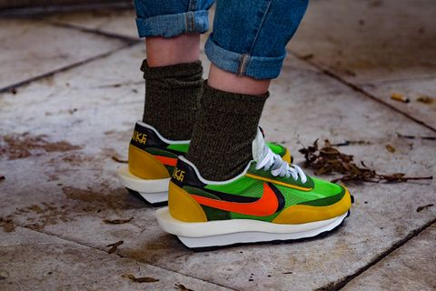 speical offer new release release date: sacai x Nike: Here's The Best Street Styles