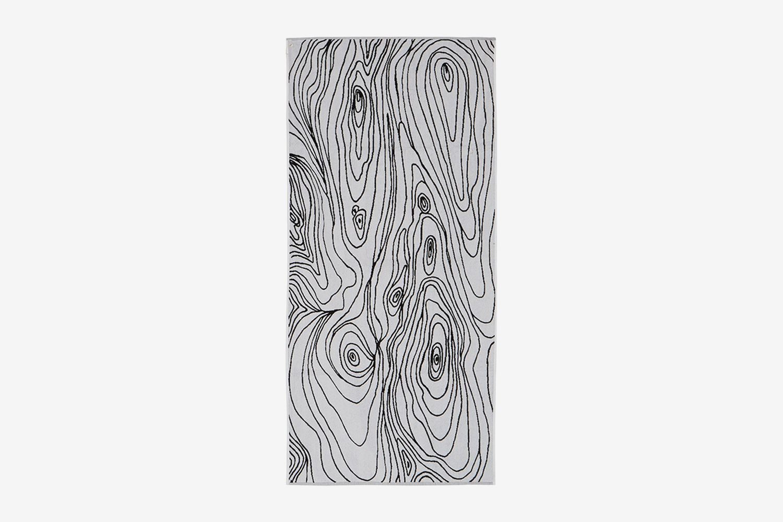 Woodgrain Cotton Towel