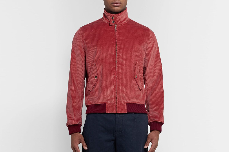 Corduroy Harrington Jacket