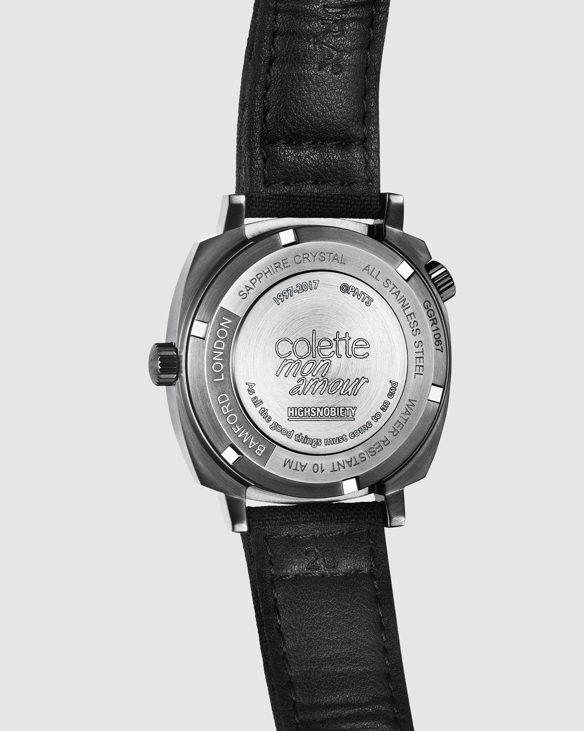 Colette Mon Amour x Bamford — Snoopy Watch Black - Image 3