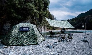 BAPE Reconnects With Helinox for New Camo Camping Gear