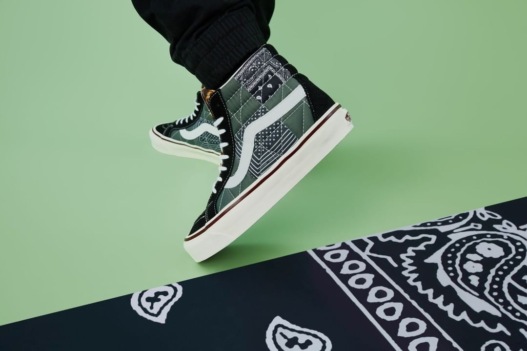 """When One Pattern Isn't Enough, the Vans Anaheim Factory """"Quilted Mix"""" Pack Is Perfect"""